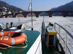 Rien ne va plus – Schifffahrt auf dem unteren Neckar praktisch nicht mehr möglich