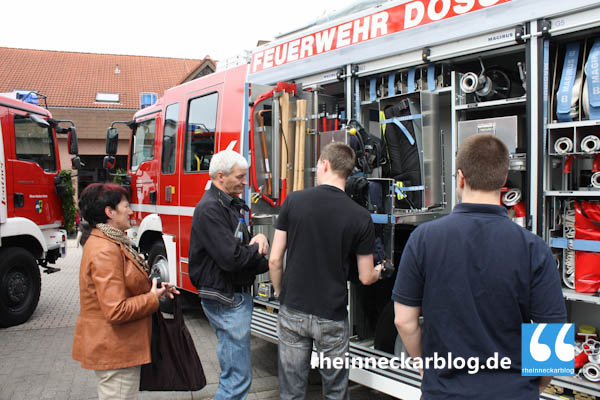 Der neue Einsatzwagen ist optimal auf die Bedürfnisse der Feuerwehr Dossenheim abgestimmt.