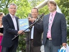 Landrat Dallinger nimmt ILEK-Bericht entgegen