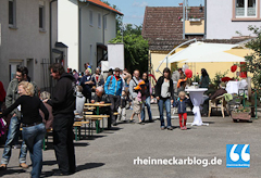 Straßenfest im Schwabenheimer Hof