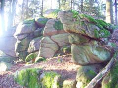Steinreiche Gegend um den Eichelberg