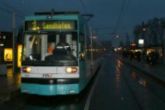 Straßenbahnen liegen auch am Montag auf Eis