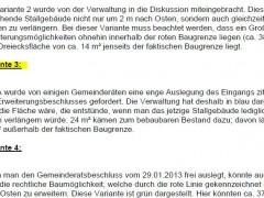 """Gemeinderat beschließt konkreten Bauantrag für Objekt im """"Iltis"""""""