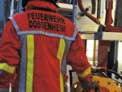 Jahreshauptübung der Feuerwehr